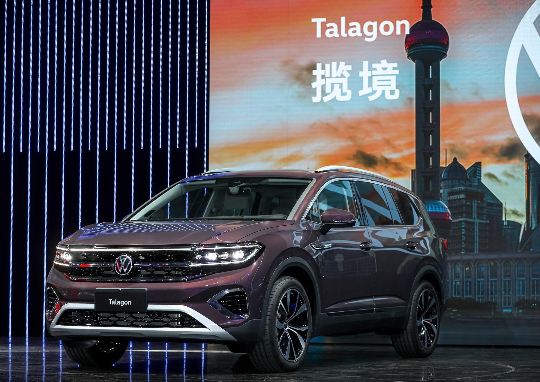 Volkswagen Talagon foi apresentado no Salão de Xangai