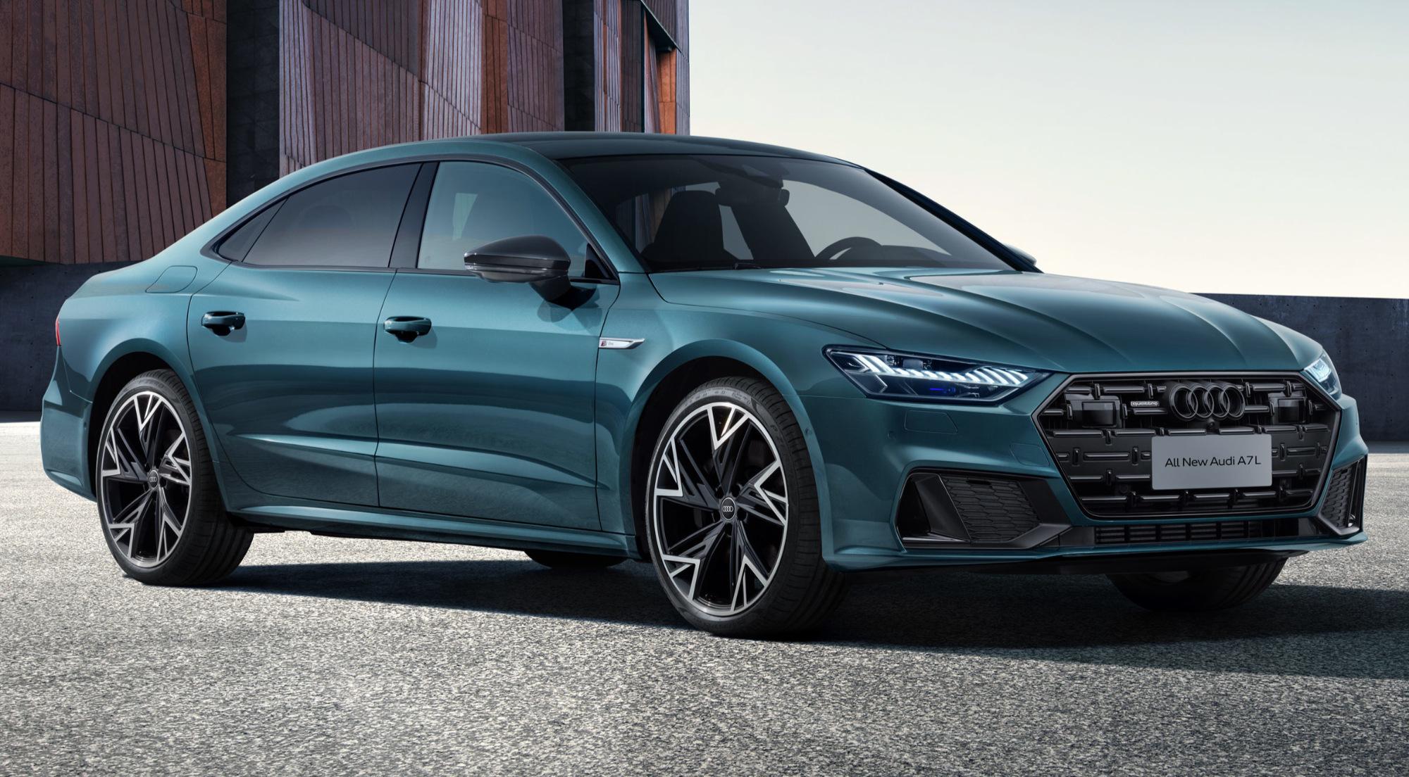 Mesmo no mercado de luxo há diferentes patamares. O Audi A7L, por exemplo, foca na base desse nicho