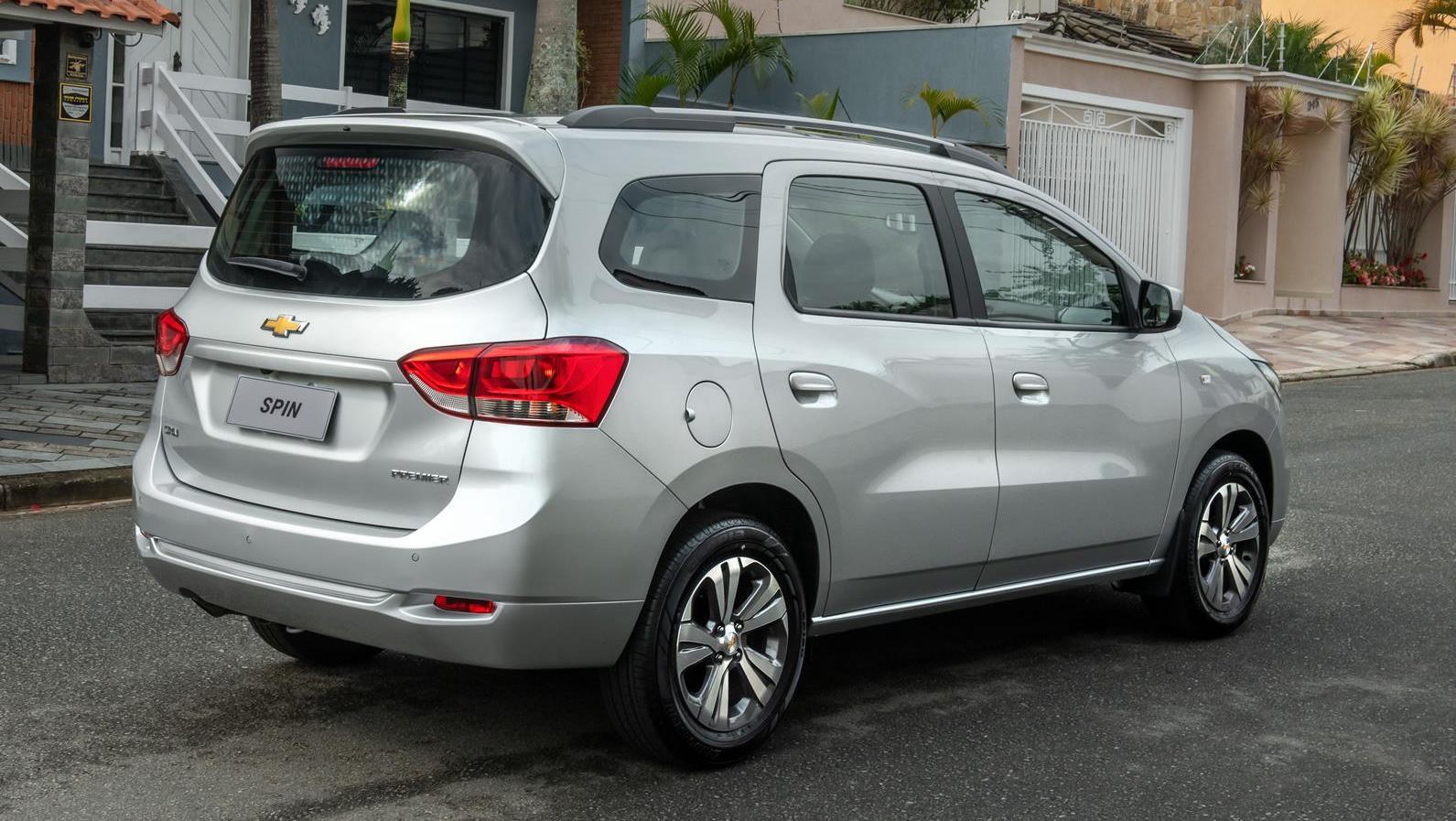 Chevrolet Spin 2022