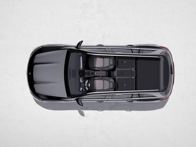 Configurações de assentos do Mercedes-Benz EQB