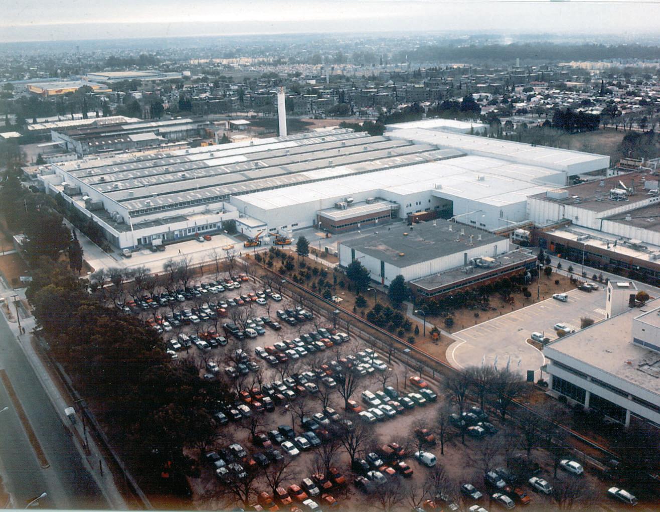 Luftansicht von Volkswagen Argentina, Standort Cordoba