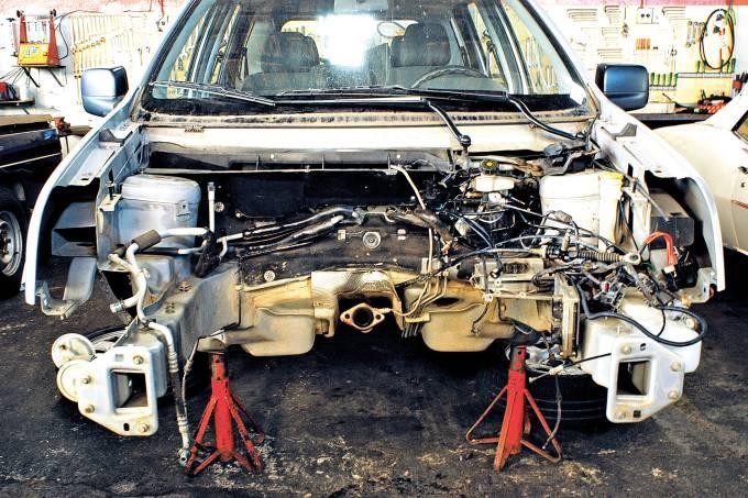 Desmonte do Ecosport XLS 1.6, da Ford, da frota de testes da revista Quatro Roda