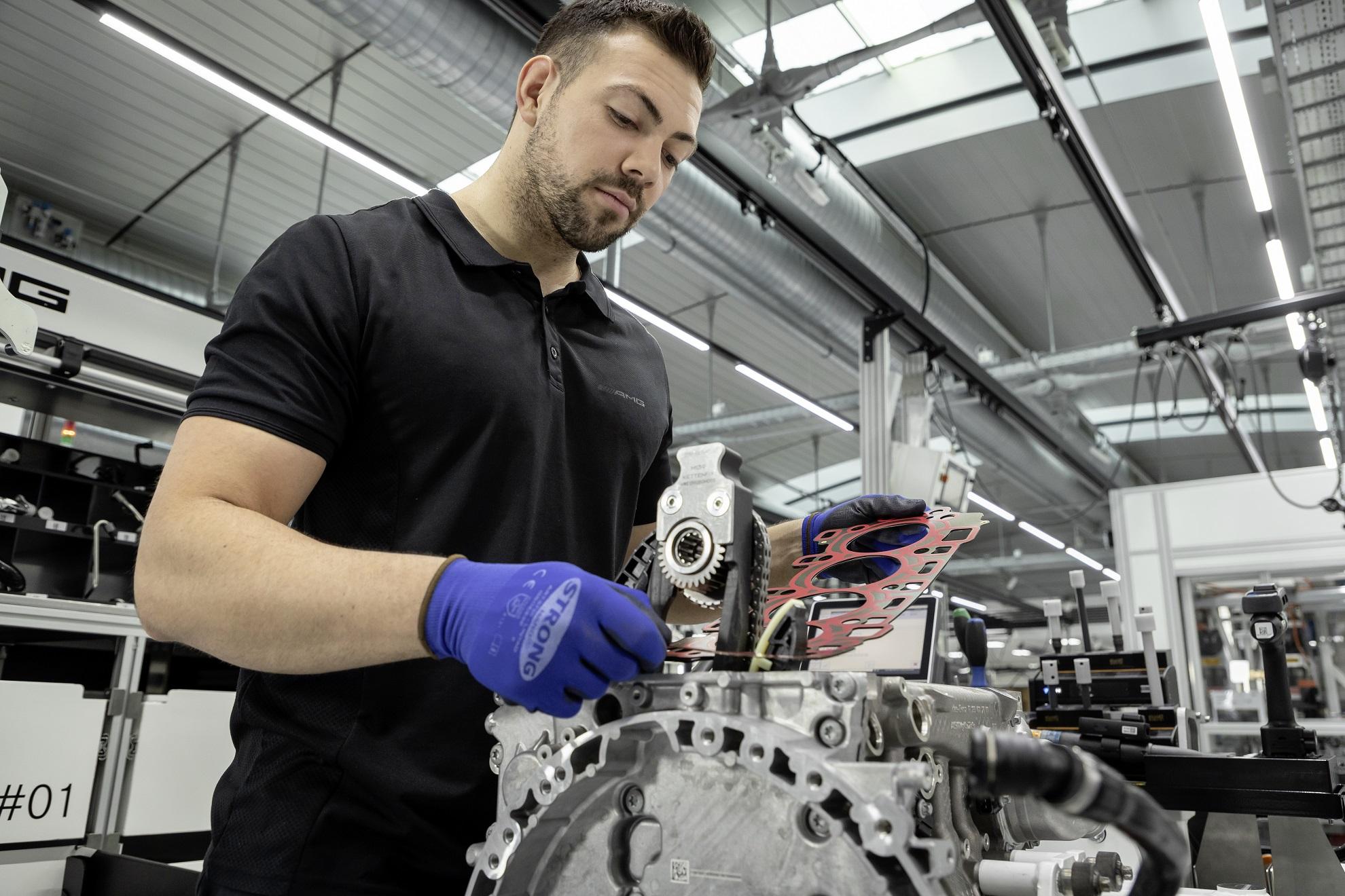 Mercedes-AMG Produktion M139 2019 Mercedes-AMG Production M139 2019