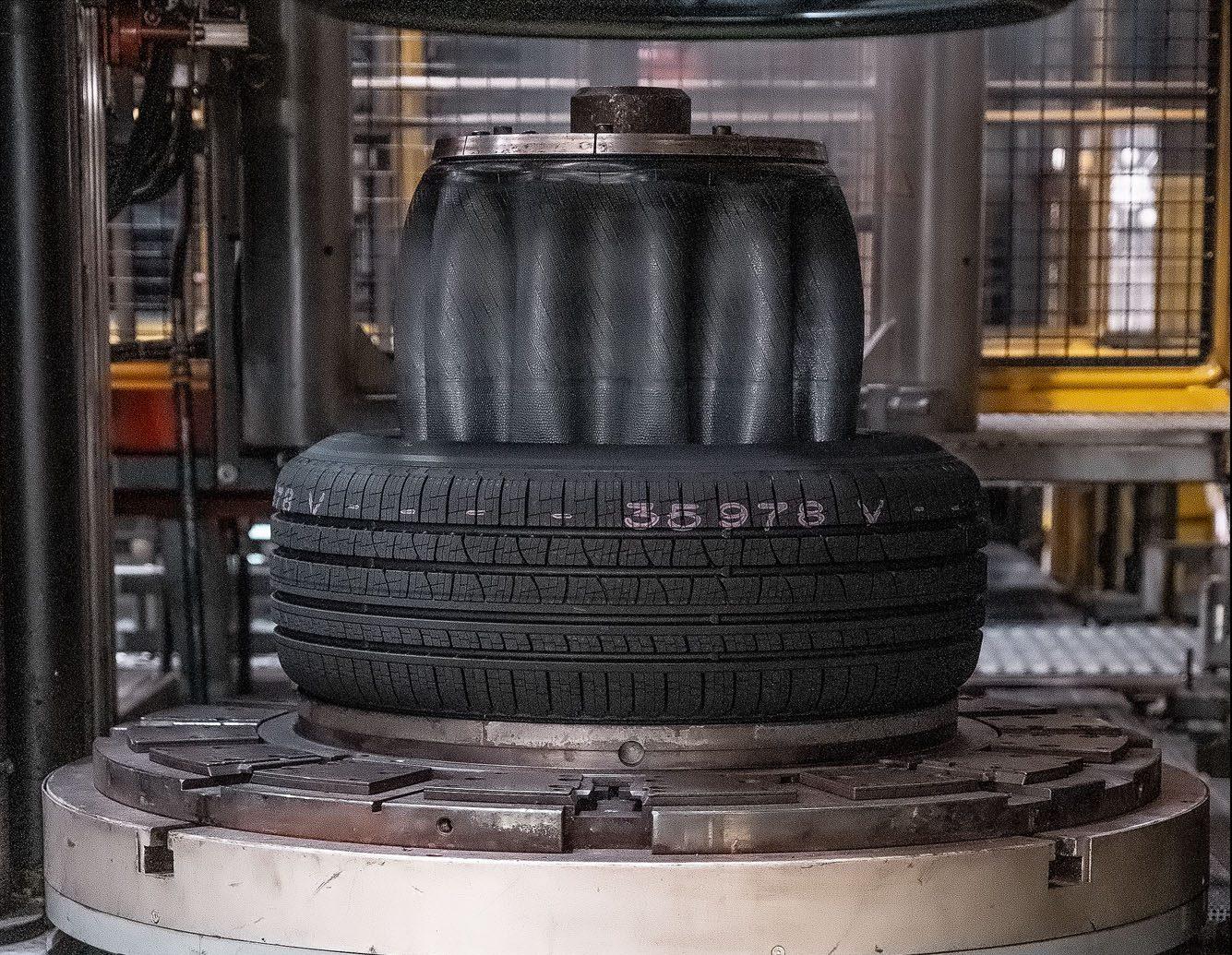 Pneus Pirelli - Vulcanização