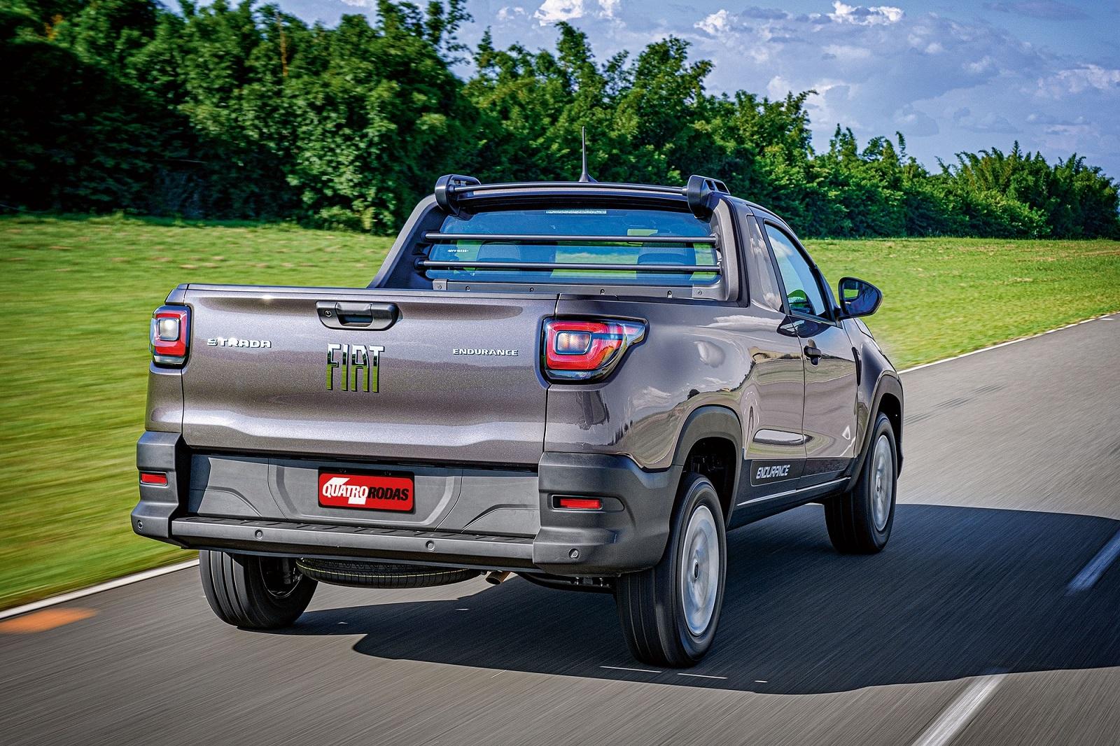 As picapes, com destaque para a Fiat Strada, valorizaram bem