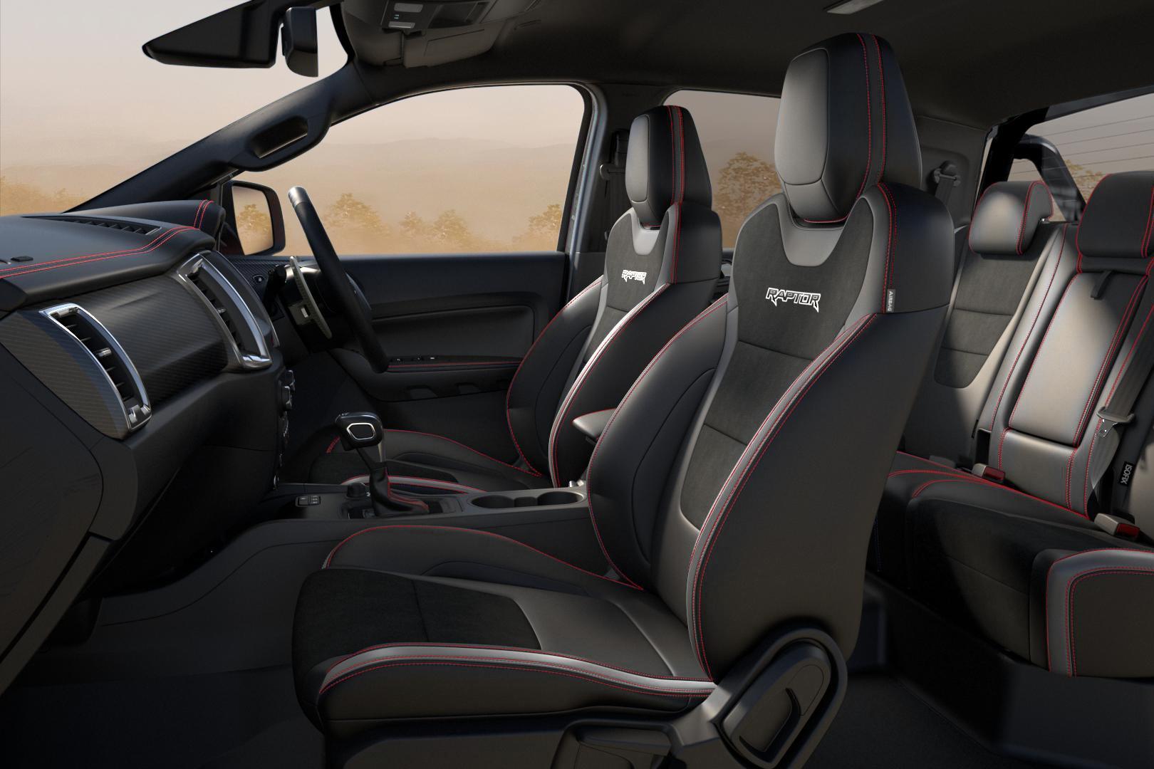 Ford Ranger Raptor X 2021 Austrália Interior