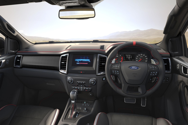 Interior da nova Ford Ranger Raptor X