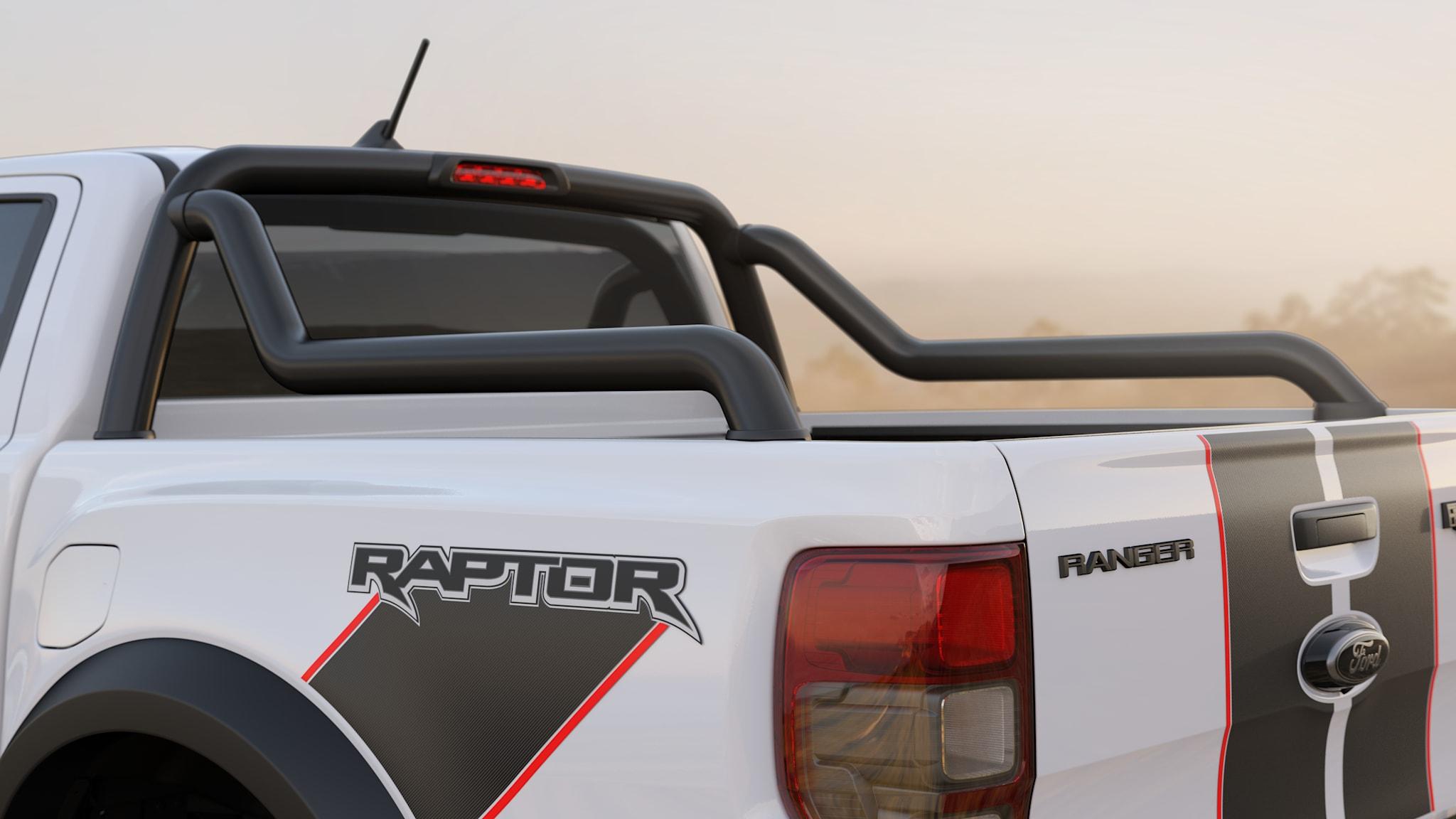 Novas barras são única exclusividade não-estética da Raptor X
