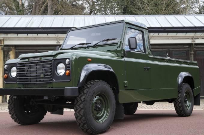 Land Rover Defender 110 do Príncipe Philip (1)