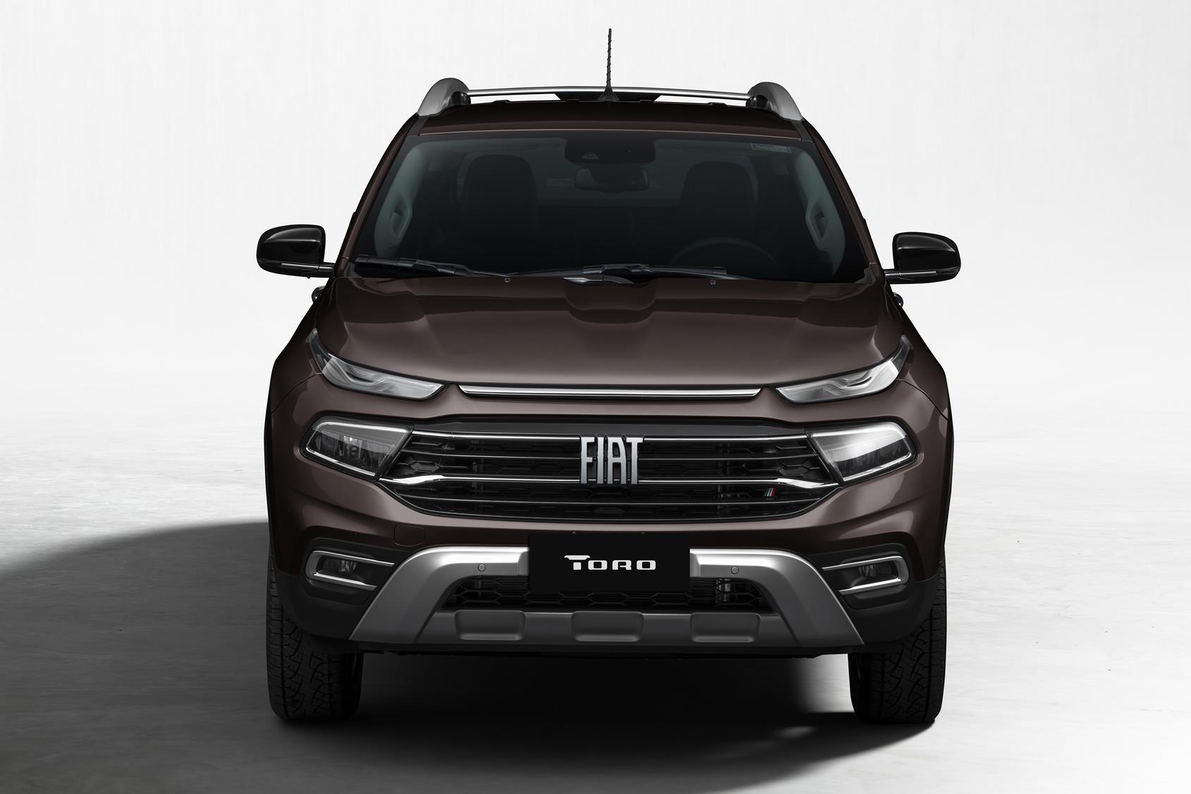 Fiat Toro 3/4 de frente