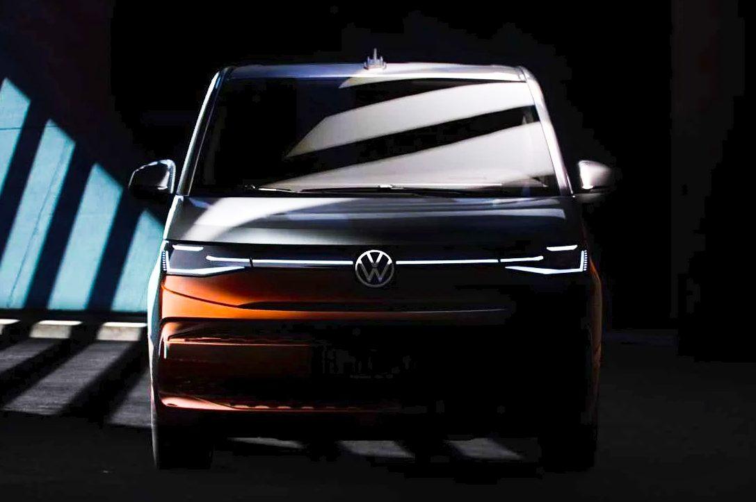 Volkswagen T7 Multivan t Vista frontal