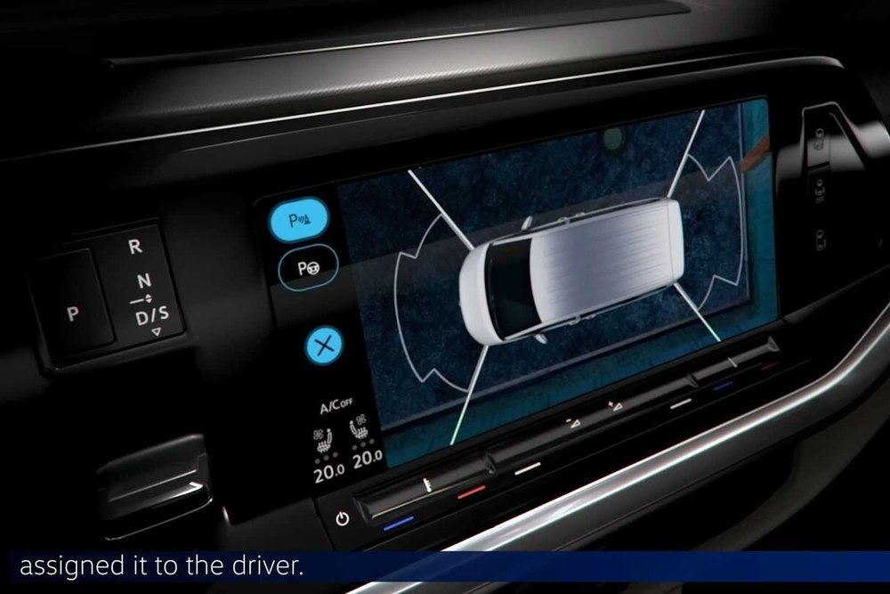 Volkswagen T7 Multivan teaser painel