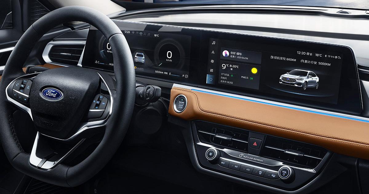 Telas do novo Ford Escort