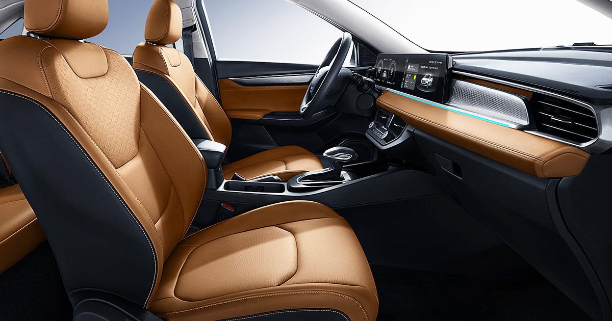 Interior do novo Ford Escort