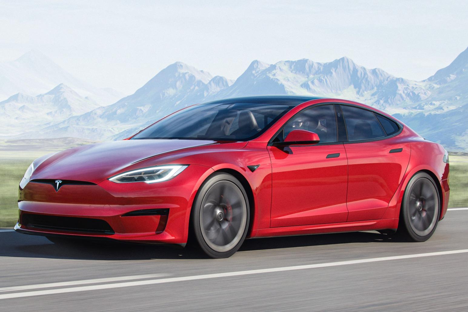 Tesla Mode S frontal