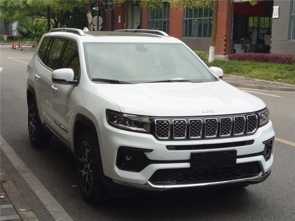 Dianteira do Jeep Grand Commander chinês é bem semelhante ao que estamos vendo aos poucos no Brasil