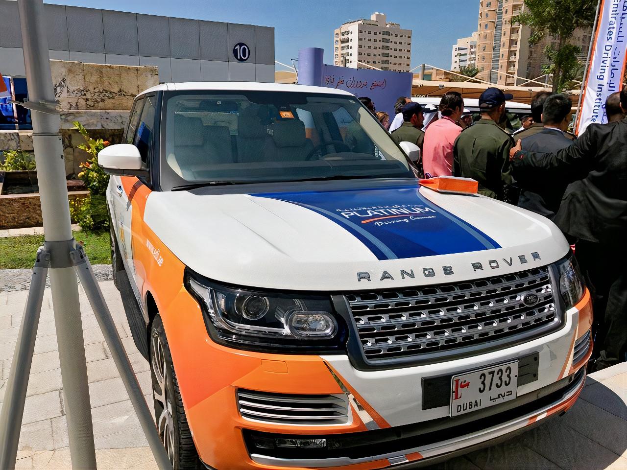 Emirates Driving Institute Land Rover Range Rover Sport