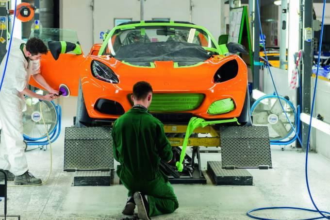 Fábrica da Lotus em Hethel