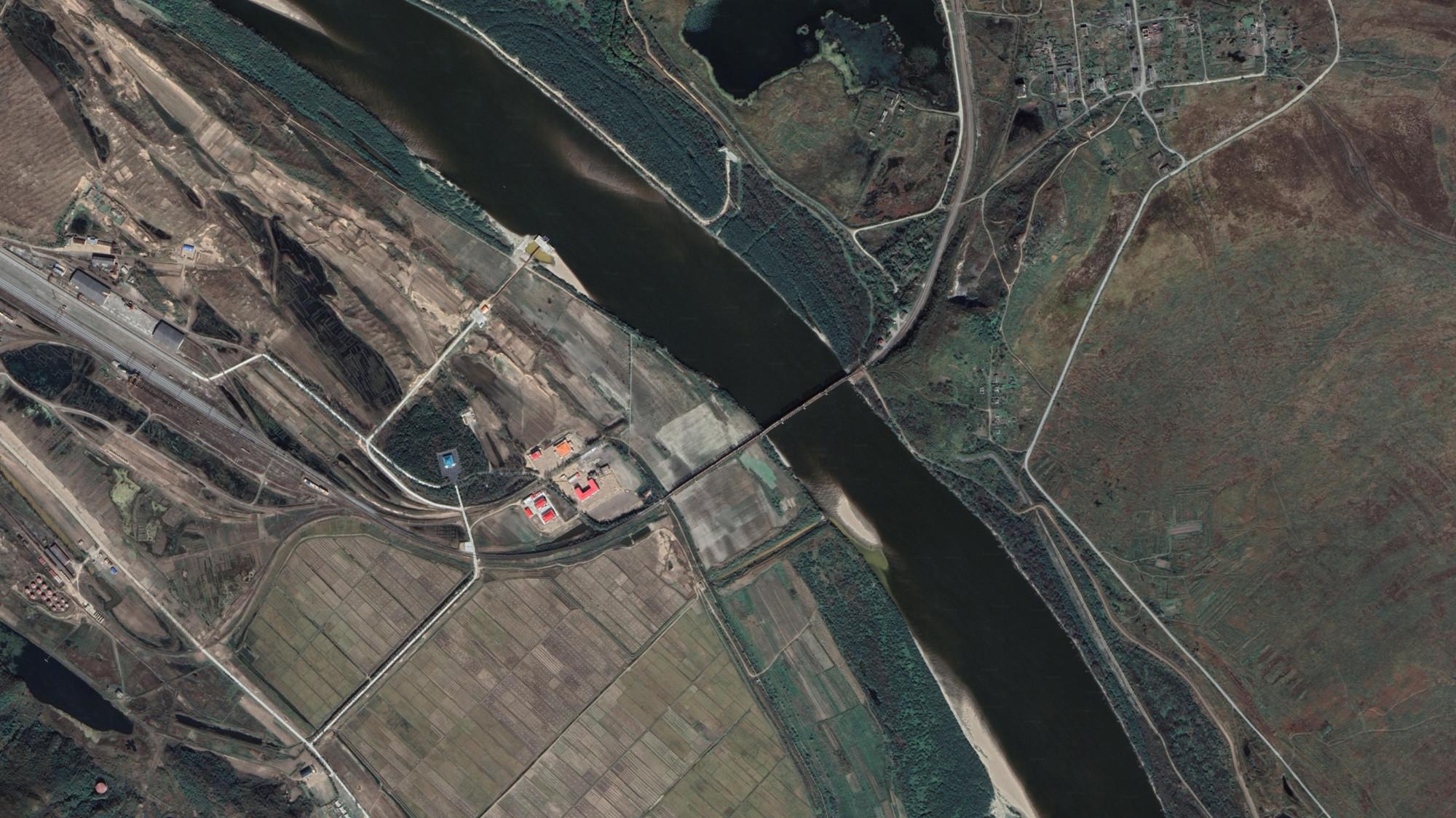 Fronteira Russia Coreia do Norte