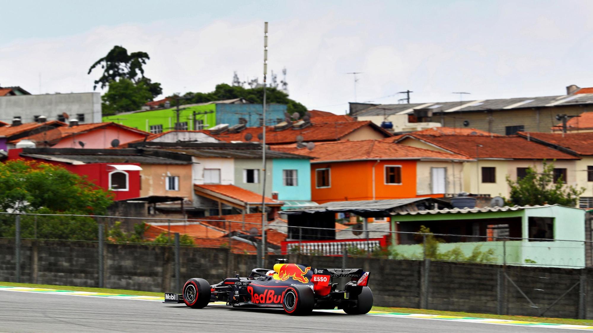 Max Verstappen Red Bull GP Brasil de 2019