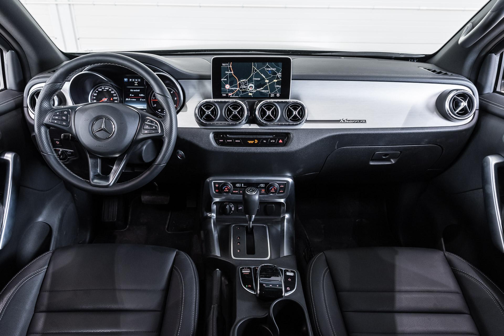 Mercedes-Benz Classe X 350d visual interno