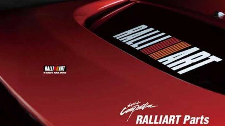 Detalhes de acessórios da Ralliart, adiantados no documento oficial da Mitsubishi