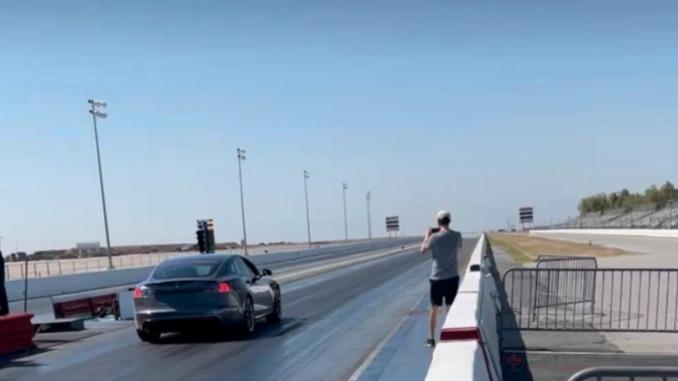 Teste Tesla Model S Plaid
