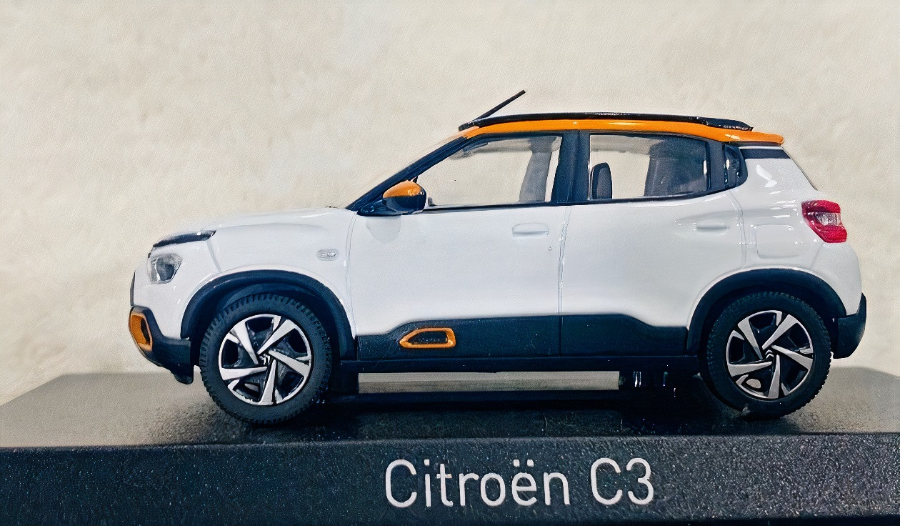 Citroën C3 2022 SC21 lateral