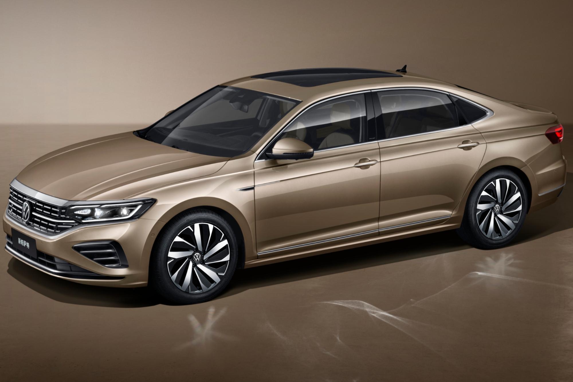 Novo Volkswagen Passat 2021 China