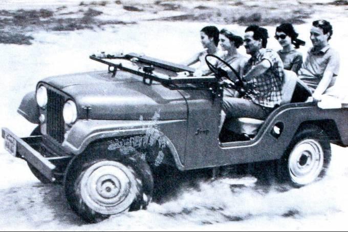 Propaganda do Jeep, da Willys, publicada na revista Seleções.