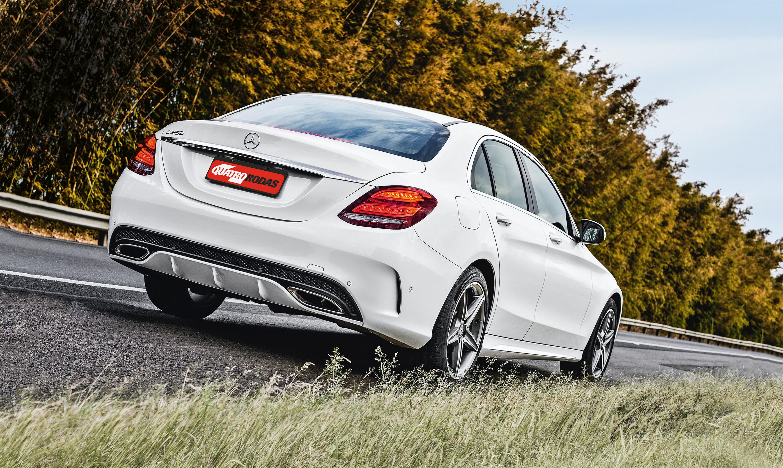 C 250 Sport, da Mercedes-Benz, automóvel testado pela Revista Quatro Rodas.