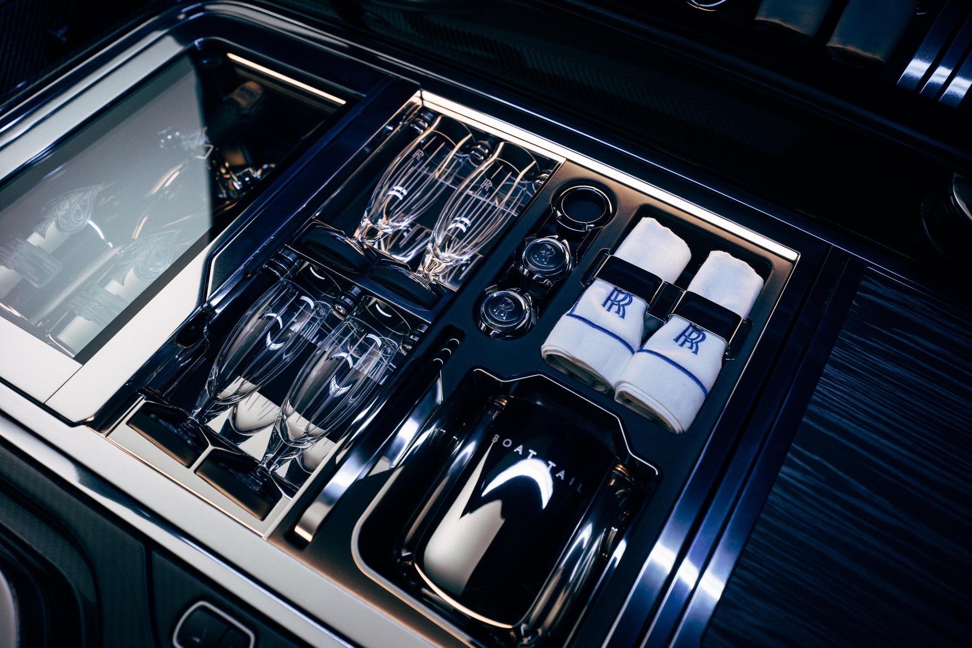 Suíte de Hospedagem do Rolls-Royce Boat Tail conversível