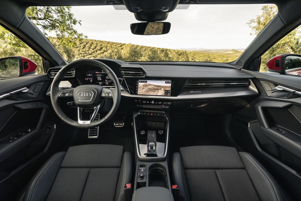 Interior do Audi A3 Sportback 2022