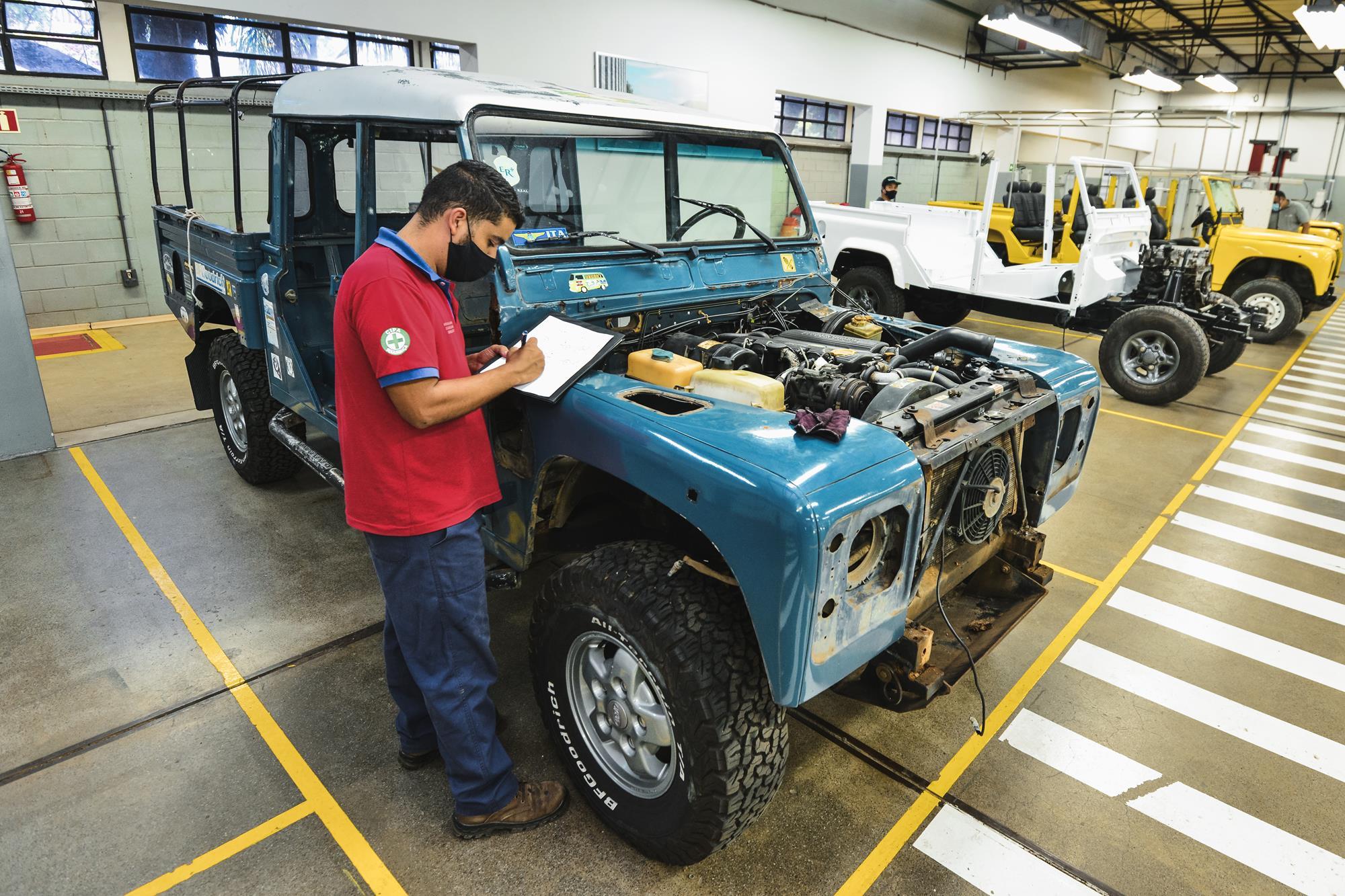 clinica de restauração land rover brasil