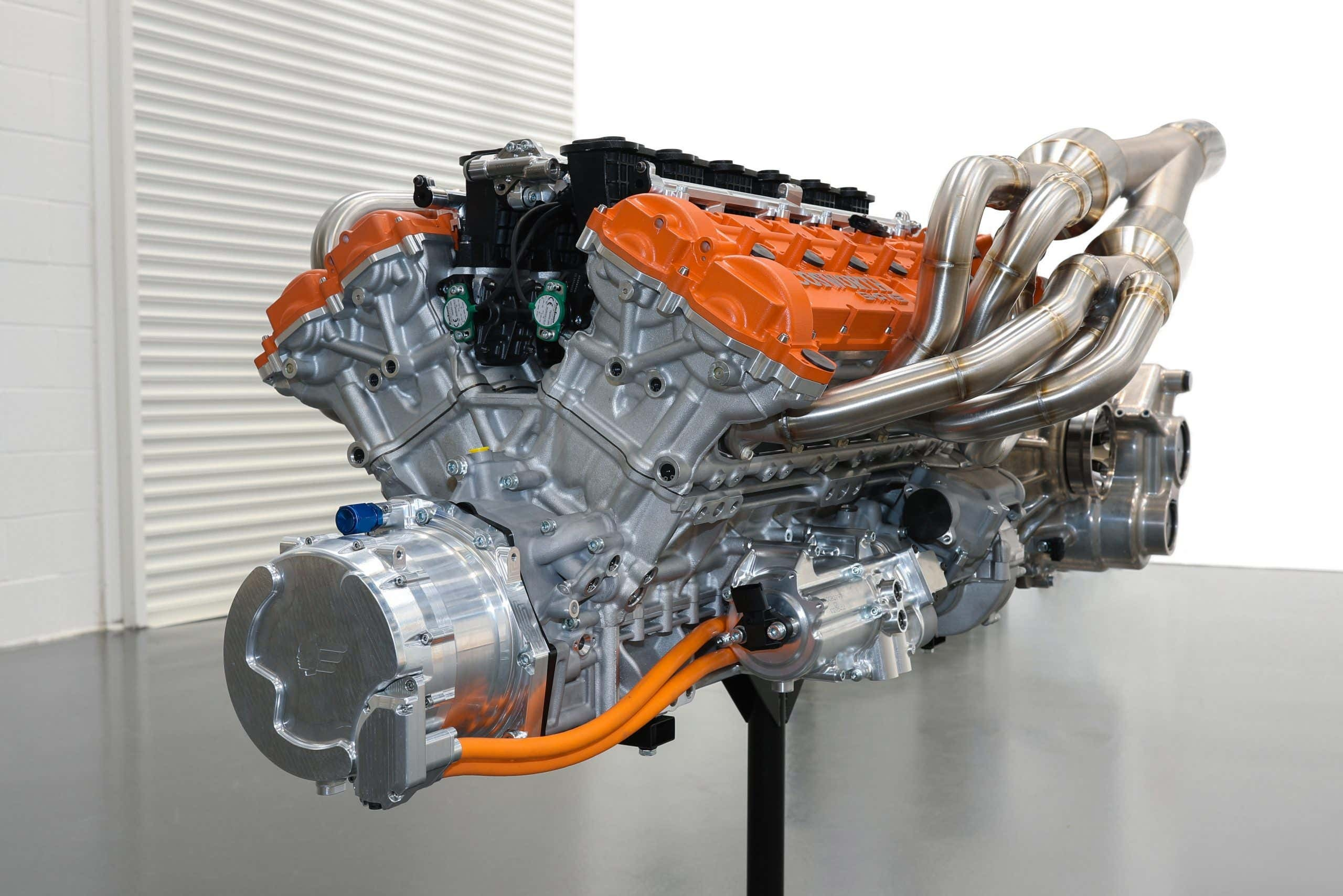 Um carro criado por Gordon Murray e que homenageia Niki Lauda não poderia contar com motor menos impressionante