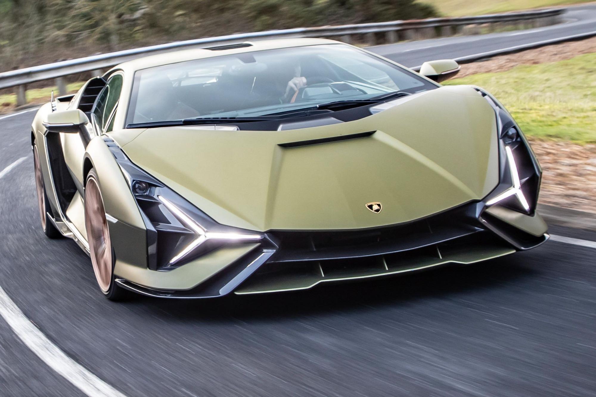 Lamborghini Sian Frente