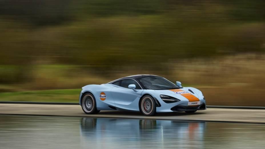 O modelo é um dos mais rápidos do mercado atualmente e pode chegar até 341 km/h