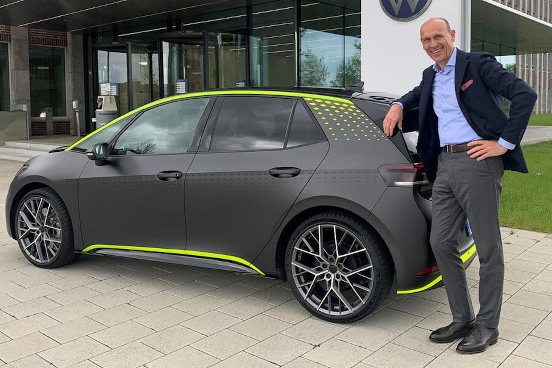 novo prototipo id.x e CEO da Volkswagen