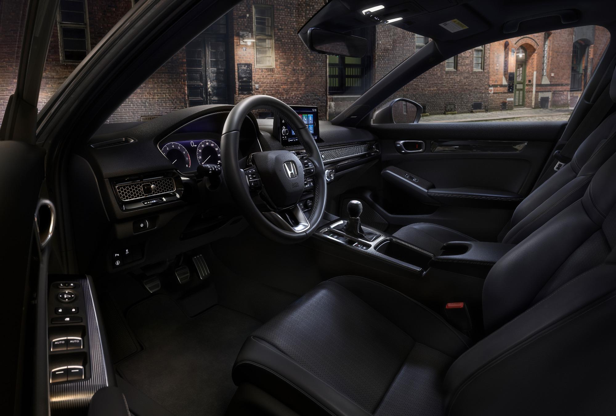 interior do novo Civic Hatchbach 2022