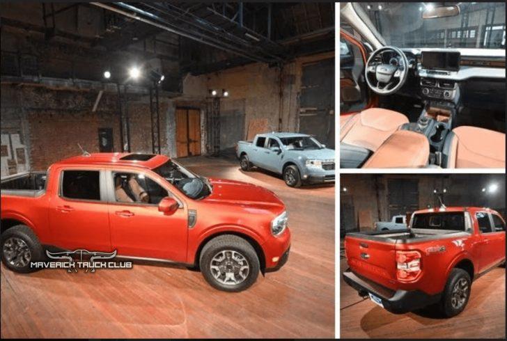 Detalhes vazados da nova Ford Maverick