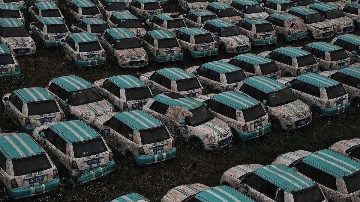 Unidades de Lifan 330 EV 01 abandonados