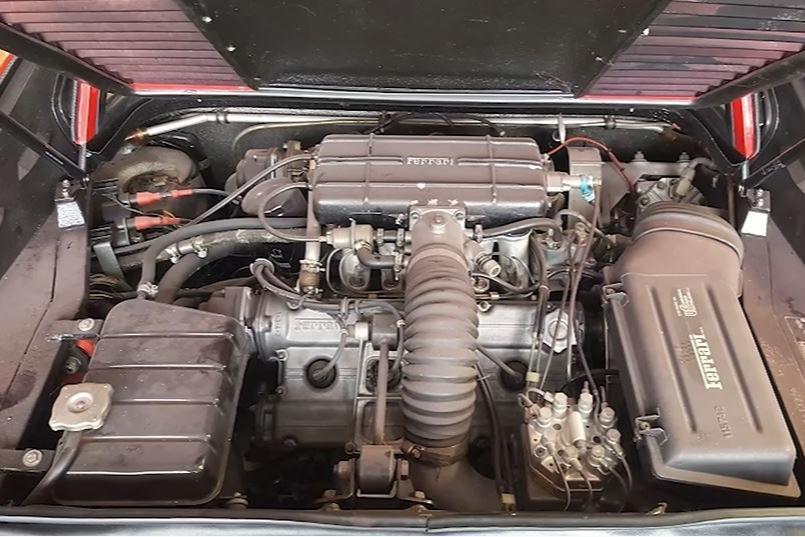 Motor da Ferrari 308 GTS