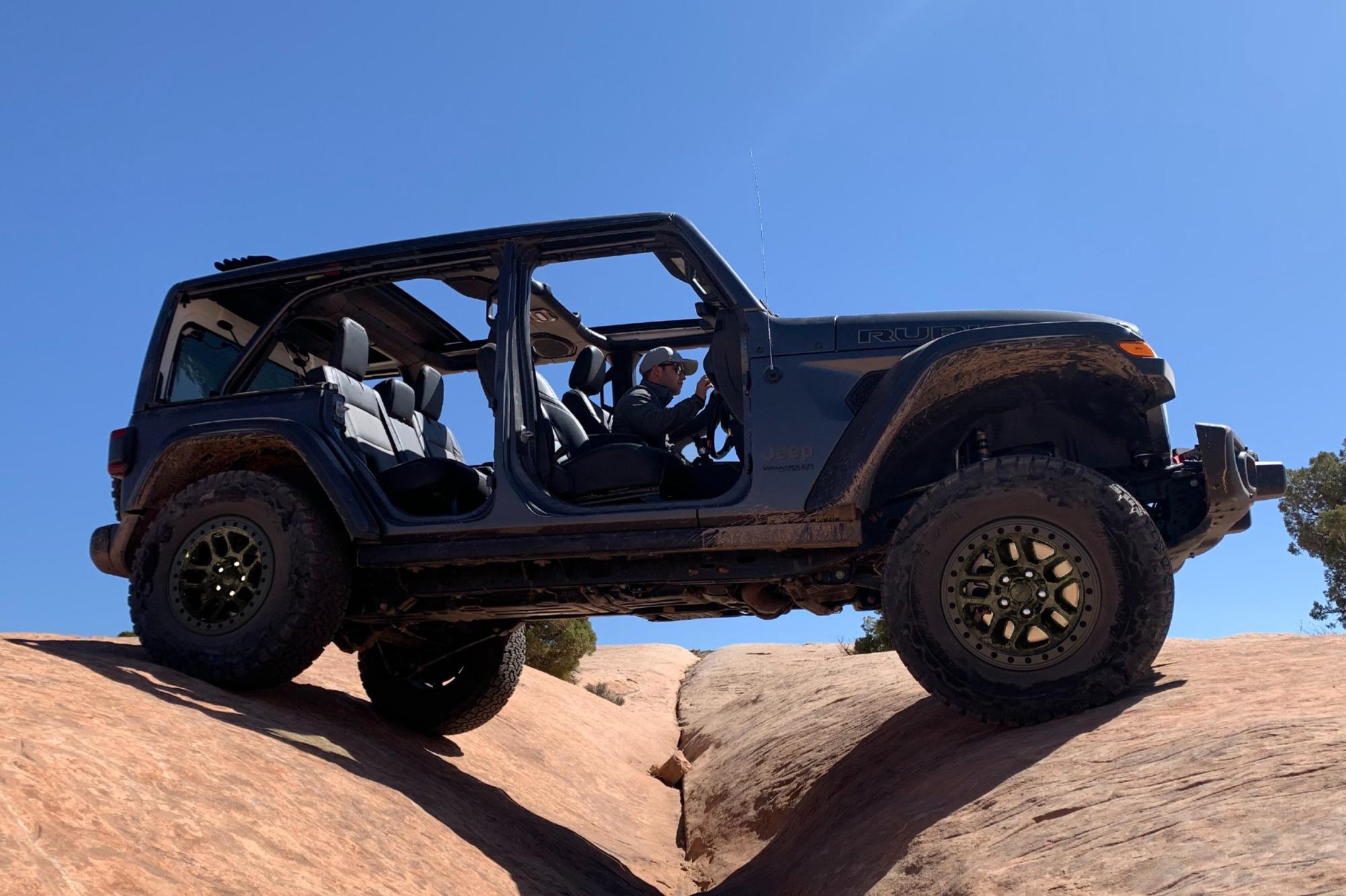 jeep wrangler com novo pacote de equipamentos Xtreme Recon