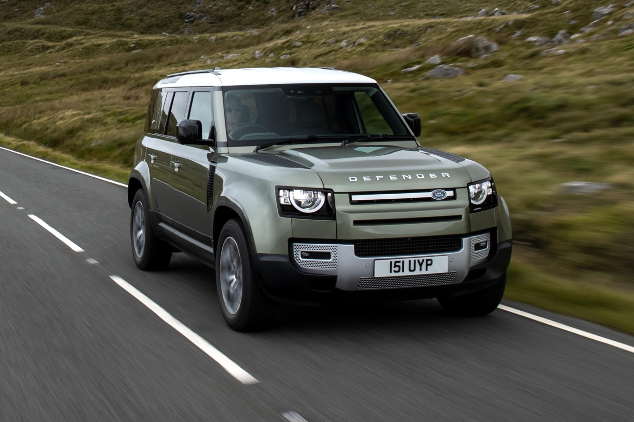 protótipo Land Rover Defender com célula de combustível hidrogênio