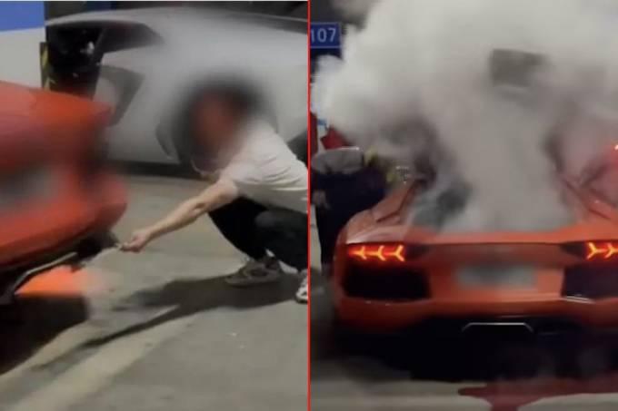 Lamborghini Aventador China
