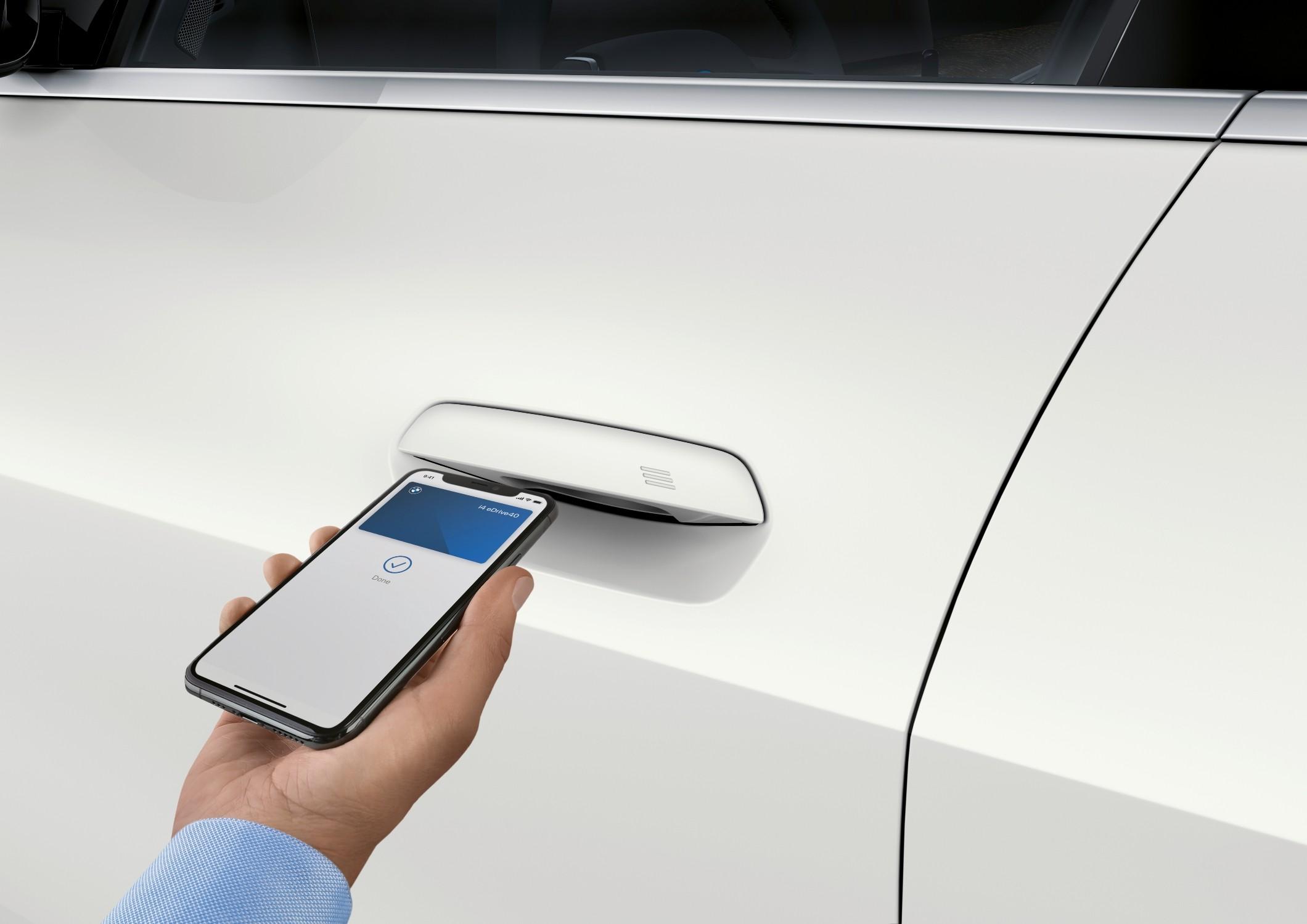 Android 12 oferece suporte nativo aos recursos de comando do novo BMW i4