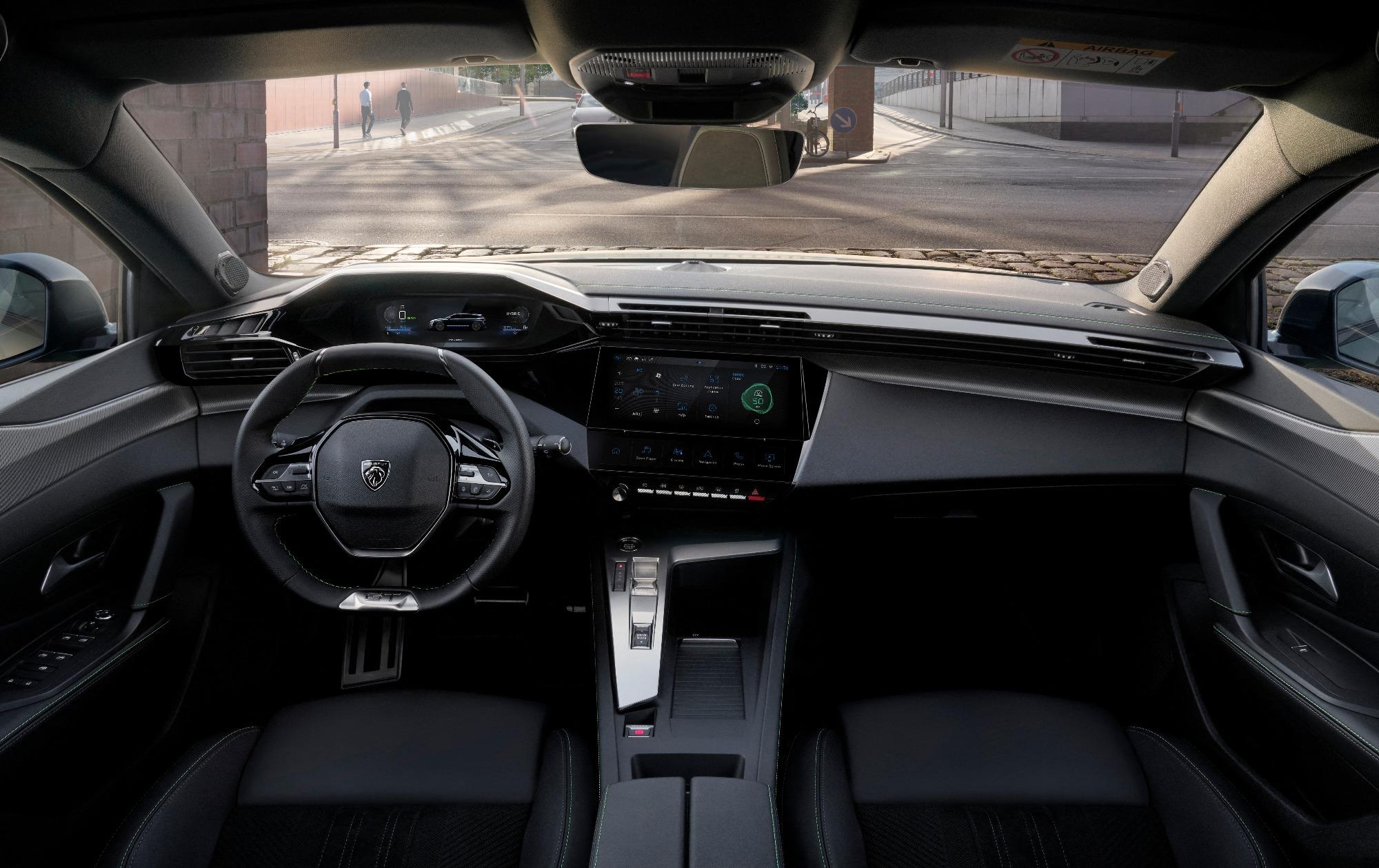 Peugeot 308 SW 2021 visto por dentro
