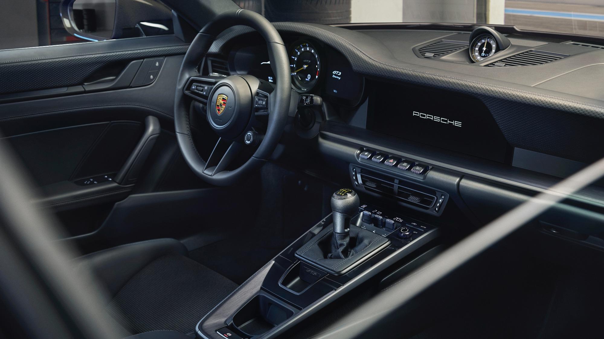 Câmbio do Porsche 911 GT3 Touring 2022