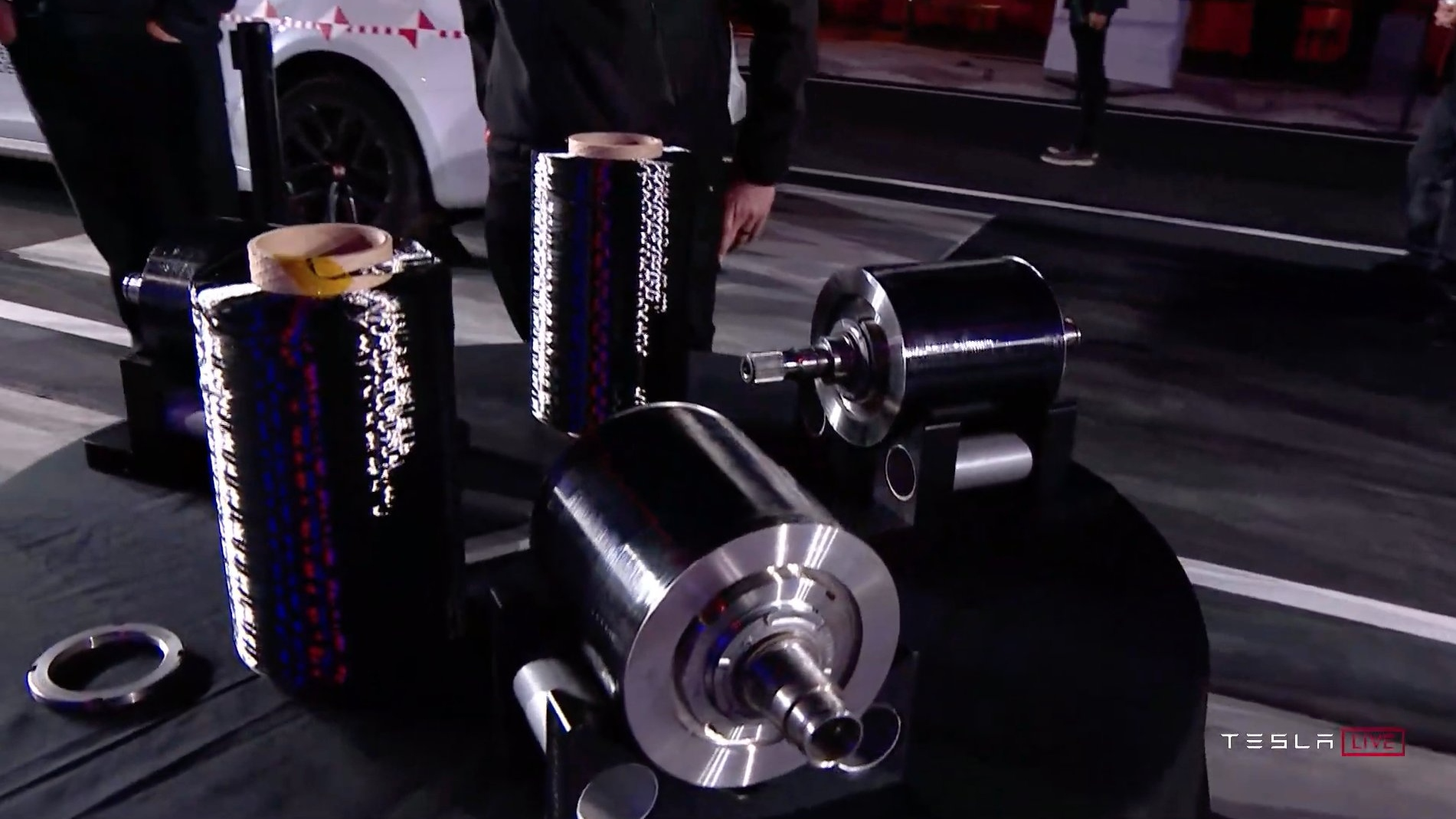 Rotor do Motor Tesla Model S Plaid