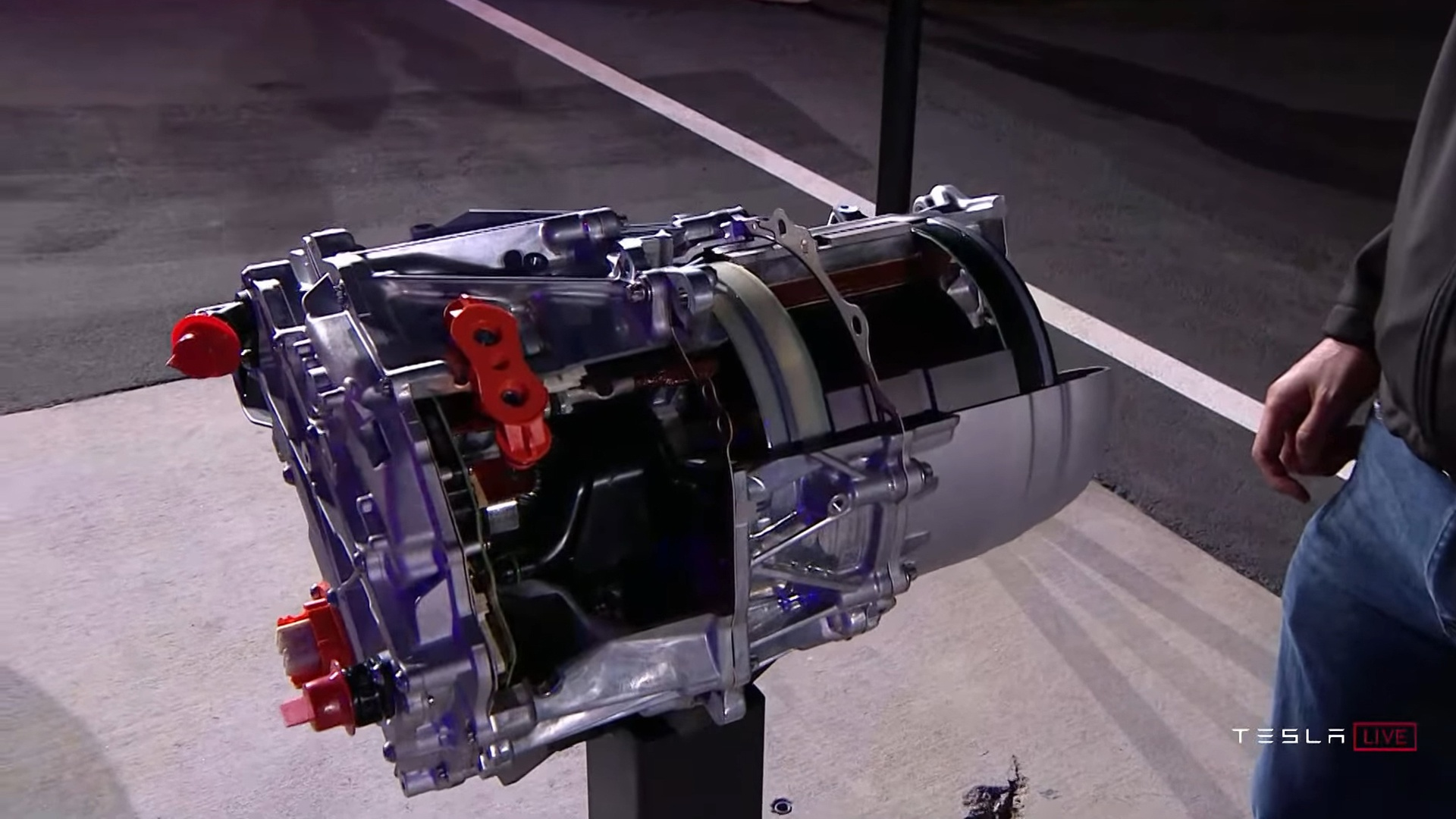 Motor Tesla Model S Plaid